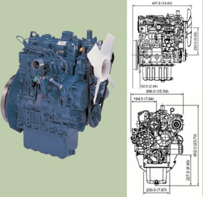 kubota tractor diesel engines 05 series workshop repair Kubota D1005 Parts List D1005 Kubota Glow Plug