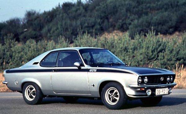 Opel manta gt