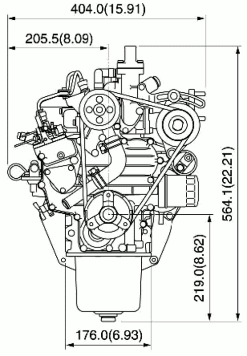 Kubota Tractor Diesel Z482 Z602 D662 D722 E2b Repair Manual Downl