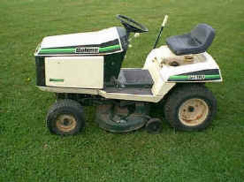 troy bilt riding mower repair manual