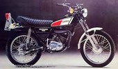 Thumbnail Yamaha DT100 DT125 DT175 Motorcycle 1975-1982 Factory Service Repair Workshop Manual Download PDF