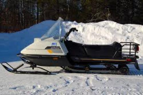 Ski Doo Citation Tundra Snowmobile 1985