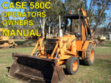 Thumbnail Case 580C CK TRACTOR TLB Operator OWNER User MANUAL 580CK C