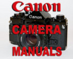 Thumbnail Canon AT-1 AT1 Camera SERVICE MANUAL & OWNER'S -3- MANUALS - #1 DOWNLOAD