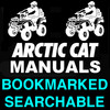 Thumbnail Arctic Cat DVX 400 ATV 2008 Service Repair Manual - IMPROVED - DOWNLOAD