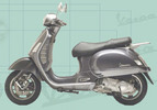 Thumbnail Vespa GT 200  GT200 Granturismo  Workshop & Parts Manuals - INSTANT DOWNLOAD