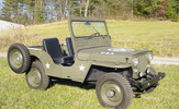 Thumbnail 1948 WILLYS-Overland Jeep CJ2A MECHANIC Service SHOP MANUAL