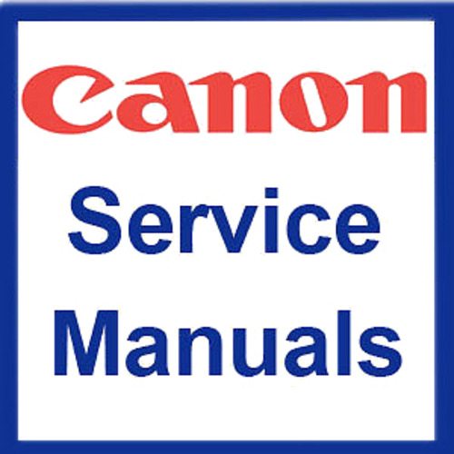 Canon GP Copier Service Repair Manual Parts Catalog User Guide Maintenance  Manuals (ISO) - DOWNLOAD
