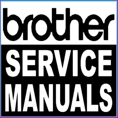 Pay for Brother Factory Laser Copier Fax MFC Printer Service Manual Manuals - DOWNLOAD