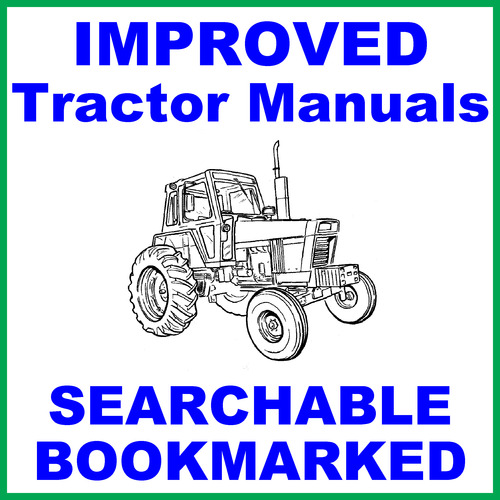 International 244 Tractor Diagram : International harvester tractor service shop manual