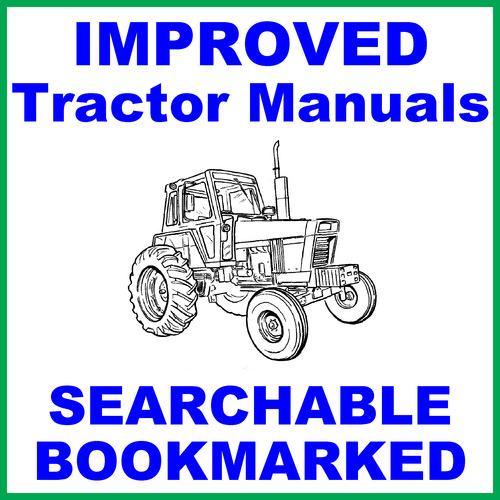 International Harvester 5488 Tractor Service Shop Manual