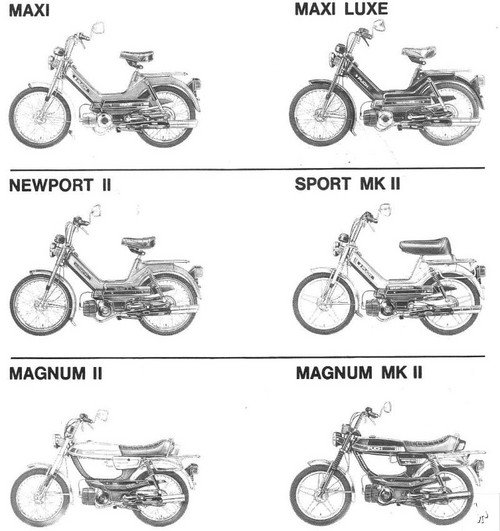 Puch Moped Service Manual  U0026 Parts  U0026 Owners