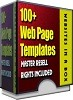 Thumbnail 100+ Website Templates in a Box