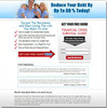 Thumbnail Debt Relief Niche Ready Made Website