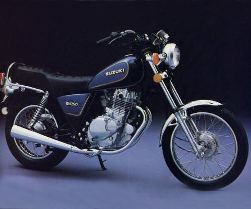 1982-1983 suzuki gn250 workshop repair manual