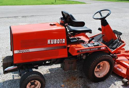 Free Kubota F2000 Front Mower Operator Manual Download Download thumbnail