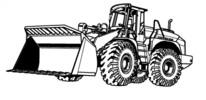 Thumbnail LIEBHERR L507 WHEEL LOADER OPERATION & MAINTENANCE MANUAL (Serial number: 12800)