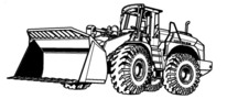 Thumbnail LIEBHERR L574 / L574S WHEEL LOADER OPERATION & MAINTENANCE MANUAL (Serial number: from 12800)