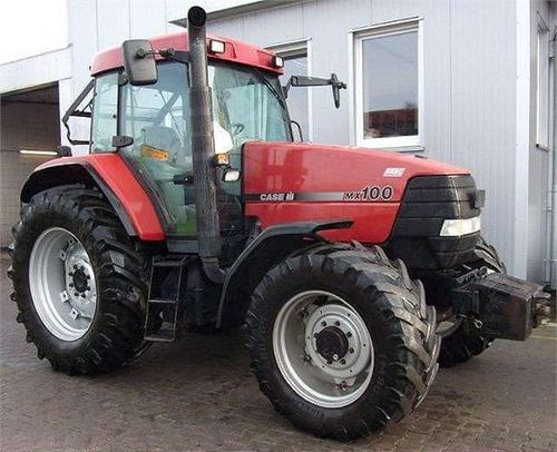 Case Tractor Mx110 : Case mx series tractors service