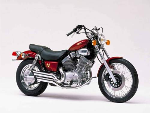 yamaha xv535 virago motorcycle service repair manual 1987. Black Bedroom Furniture Sets. Home Design Ideas