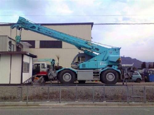 Kobelco Rk250-3 Crane Service Repair Manual
