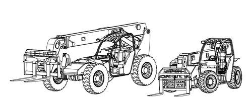 XTREME Forward Reach Forklifts XR620 / XR621 / XR842 / XR1045 / XR1245 on