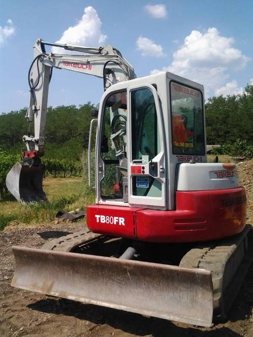 pay for takeuchi tb80fr compact excavator service repair. Black Bedroom Furniture Sets. Home Design Ideas