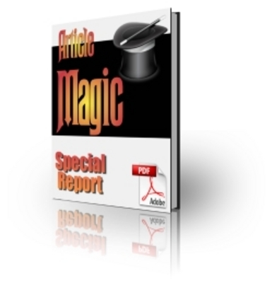 Pay for Article Magic **with Master Resale Rights**