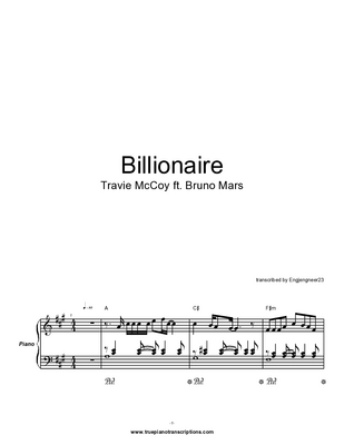 Pay for Billionaire by Travie McCoy