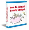 Thumbnail Setup a Family Budget