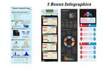 Thumbnail Email Marketing Infographics PSD Template PLR + 3 Bonus Temp