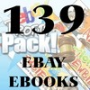 Thumbnail HOW TO MAKE MONEY ON EBAY - 139 EBOOKS W/Resell Rights