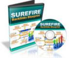 Thumbnail Surefire Backlinks BluePrint: Step By Step Video Course w RR