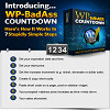 Thumbnail WP BadAss Countdown Wordpress Plugin with RR