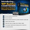 Thumbnail WP BadAss Countdown Wordpress Plugin with RR