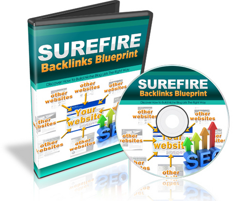Pay for Surefire Backlinks BluePrint: Step By Step Video Course w RR