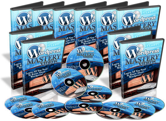Pay for 30 Wordpress Mastery Videos with Master Resell Rights