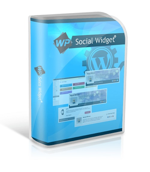 Pay for WP Social Media Widget : Wordpress Plugin with PLR