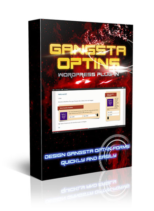 Pay for Gangsta Optins Wordpress Plugin with Master Resale Rights