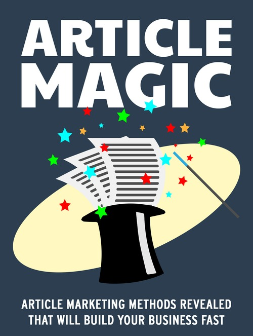 Pay for Turn Articles into Gold with Article Magic (MRR & Giveaway)