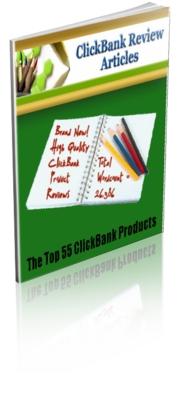 Pay for 55 Clickbank Product Reviews + CB Message Sets Bonus w PLR $