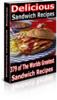 Thumbnail DELICIOUS SANDWICH RECIPES - 379 Sandwich Recipes!