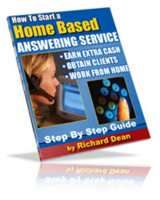Pay for HOW TO START A HOME BASED ANSWERING SERVICE