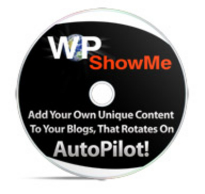 Pay for Wp Show Me + PLR + Tutorial