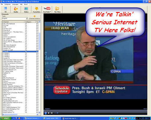 Pay for Ultimate Web TV Software
