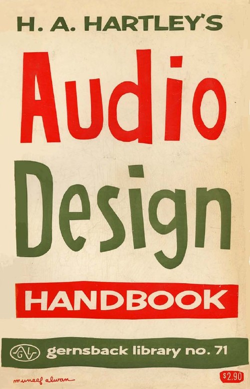 Pay for Audio Design Handbook by H. A. Hartley (1958)