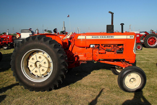 Allis chalmers Ca shop manual