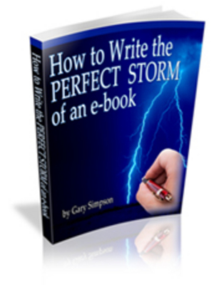 Pay for How to Write the PERFECT STORM of an E-book