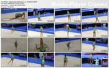 Thumbnail Gymnastic rhythm - Alexandra Merkulova at YOG 2010