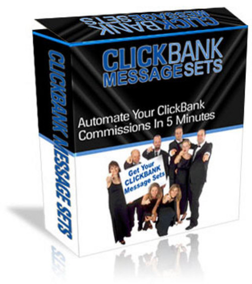 Pay for Click Bank Message Sets for AutoResponder...